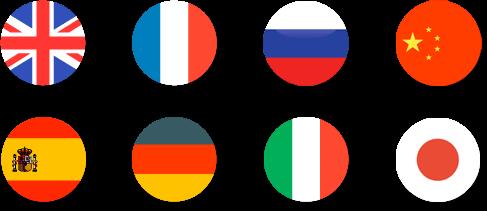 szkola jezykow flagi